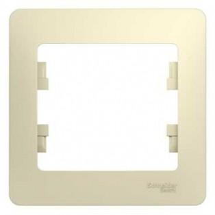 Ecola GX53 FT3225 светильник встраиваемый глубокий легкий хром 27х109