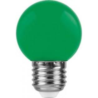 Лампа 1W, E27, зеленый, LB-37