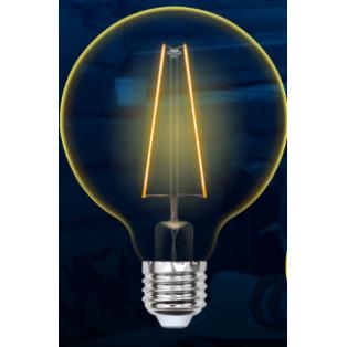 LED-G80-4W/GOLDEN/E27 GLV21GO Лампа светодиодная Vintage.Золотистая колба.Форма