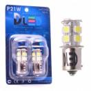 Автомобильная светодиодная лампа Р21W ВА15S-SMD5050 13Led 3,12Вт 12V белый