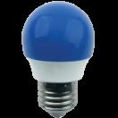 Лампа светодиодная Ecola globe LED 2.6W G45 220V E27 Blue матовая колба 75х45