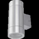 Светильник Ecola 2*GX53 LED 8013A IP65 прозрачный Цилиндр Сатин-хром 205х140х90