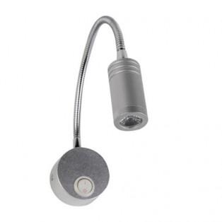 040-007-0003 Светильник для подсветки зеркал 3W Серебро