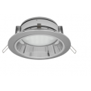 Ecola GX53 H2R Downlight with reflector Chrome 58х125