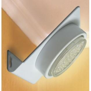 Ecola GX53-N82 светильник настенный угловой Белый 52х130х111