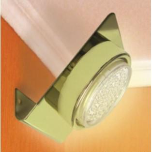 Ecola GX53-N82 светильник настенный угловой Золото 52х130х111