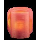 Свеча декоративная CL1-E34Rs розовая