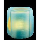 Свеча декоративная CL1-E34B голубая