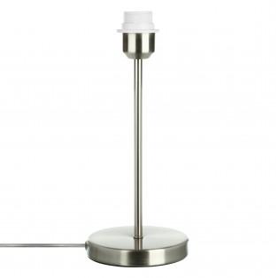 Основание настольной лампы НИКЕЛЬ 1х75Вт, E27, 220V