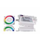 Контроллер TRW-Ring (12/24V, 216/432W, белый ПДУ сенсорный)