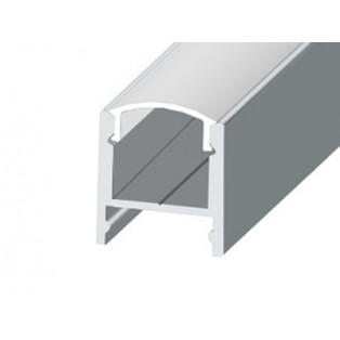 Профиль накладной аллюминиевый LC-LPS-1716-2 Anod