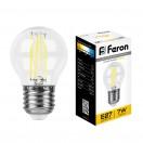 Лампа светодиодная филаментная 7W 230V E27 2700K LB-52
