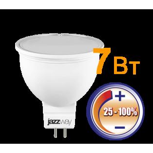 Лампа PLED- DIM JCDR 7Вт 3000K 500Лм GU5.3 230V