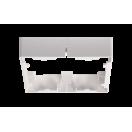 Аксессуар рамка накладная для PPL-SPW 18W квадрат