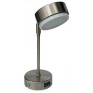 Ecola GX53 FT 5173 светильник поворотный на длинном кроншт. сатин-хром 253х80