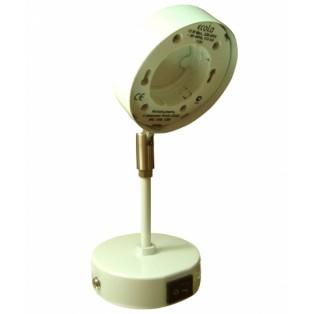 Ecola GX53 FT4173 светильник поворотный на среднем кроншт. белый 210х80
