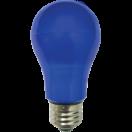 Лампа светодиодная Ecola classic LED 8.0W A55 Е27 220V 360° СИНЯЯ 108х55