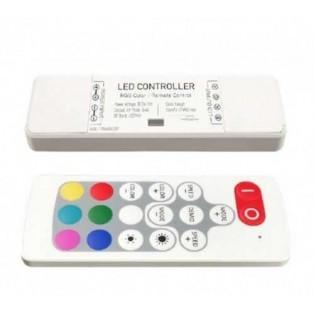 Аудиоконтроллер MINI-RF18В (12/24V, 72/144W, 18кнопок)