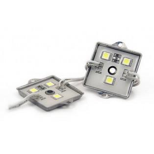 Модуль 3 LED 5050 0,72Вт Зеленый квадр