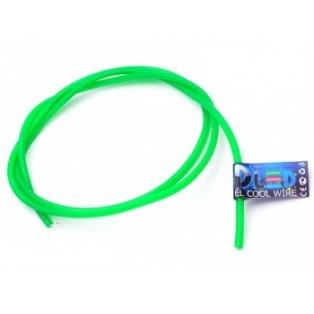 Гибкий холодный неон 3,2мм Зеленый