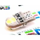 Автомобильная светодиодная лампа Т10-W5W- 4 SMD 3030 + обманка