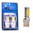 Автомобильная светодиодная лампа W21W-T20-7440 НР 4Led 6Вт 12V белый