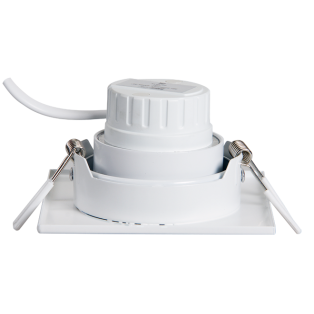 Светильник встраив. PSP-S 9552R 5W 30° встр/квадр White IP40 Jazzway