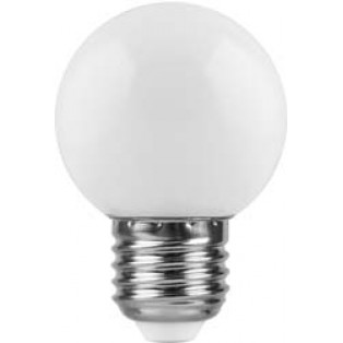 Лампа 1W, E27, 6400K, LB-37