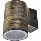Светильник Ecola 1*GX53 LED 8003A IP65 прозрачный Цилиндр Черненая бронза 114х140х90
