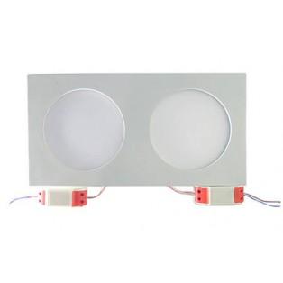 Светильник LED белый прямоуг-ый 350*180*20 20Вт ХБ