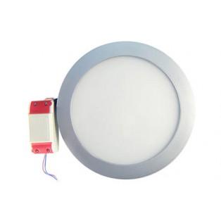 Светильник LED серый круглый 240*240*13 14Вт ХБ
