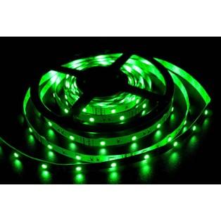 Светодиодная лента LED SMD 5050 7,2 Вт/м 30д/м IP33 Зеленый