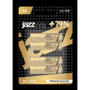 LR 6 JaZZway Premium Alkaline  - АА