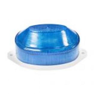 Светильник-вспышка(стробы) 3,5W 230V синий