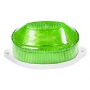 Светильник-вспышка(стробы) 3,5W 230V зеленый