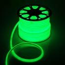 Гибкий неон круглый D 16мм, LED-120-SMD2835 220V ЗЕЛЕНЫЙ