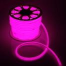Гибкий неон круглый D 16мм, LED-120-SMD2835 220V РОЗОВЫЙ