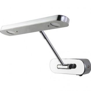 040-008-0006 Светильник для подсветки зеркал 6W Серебро