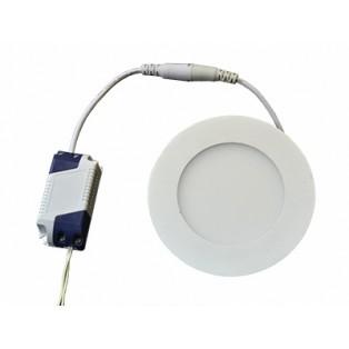 Светильник LED серый круглый 120*120*13 7Вт ХБ