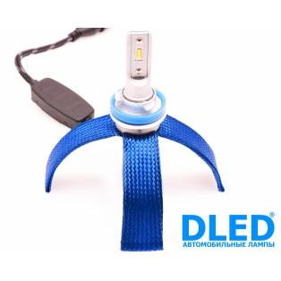 Автомобильная светодиодная лампа Н11-НР 4Led+линза 6Вт 12V