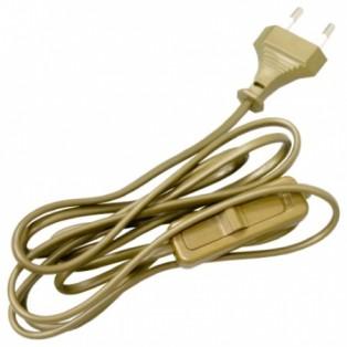 Сетевой шнур с выключателем, 230V, 1.7м