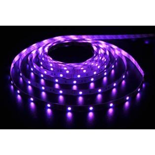 Светодиодная лента LED SMD 5050 7,2 Вт/м 30д/м IP33 RGB/цветная