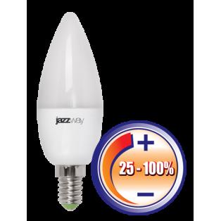 Лампа PLED-DIM C37 5Вт 400Лм 220В  Е14 3000K