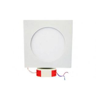 Светильник LED белый квадратный 180*180*13 10Вт ХБ