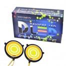 Дневные ходовые огни DRL- 110(гибкие) с поворотом