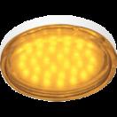 Лампа светодиодная Ecola GX53 LED 4.4W220V Tablet Yellow желтая прозрачное стекло 27х74