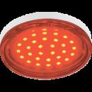 Лампа светодиодная Ecola GX53 LED 4.4W220V Tablet Red красная  прозрачное стекло 27х74