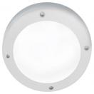Светильник Ecola GX53 LED B4139S с  накл. Белый IP65 1*GX53 мат круг алюм