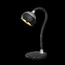 TL-326ВS черный-серебро Настольный светодиодный светильник 7Вт 3500/4500/5500К