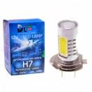 Автомобильная светодиодная лампа Н 7-НР 4+линза Cree 9,5 Вт 12V
